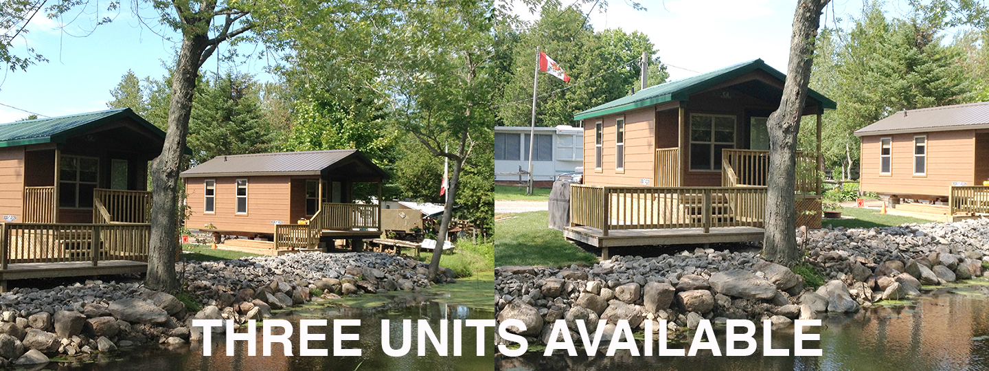 Rental Cabins at Riverwook Park